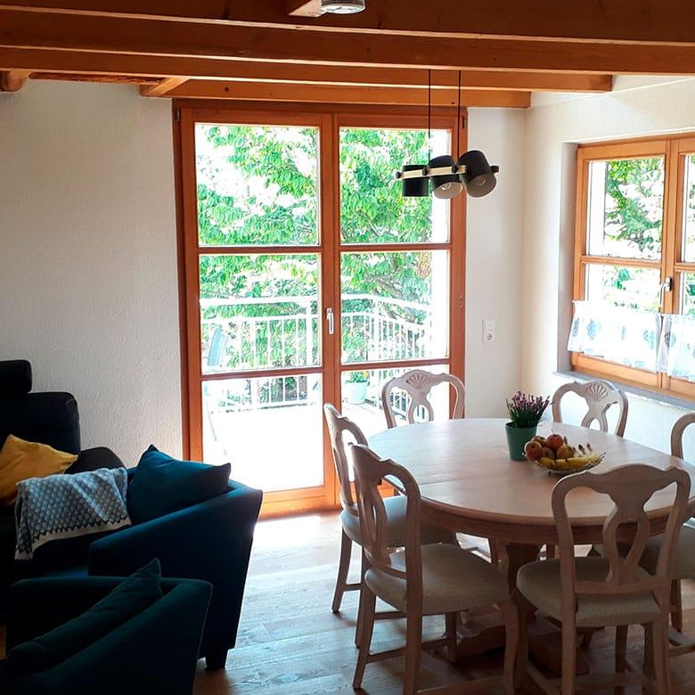 Lamm Spiegelberg-Jux Wohnen-Essen Wohnung 2