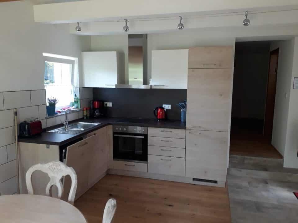 Lamm Spiegelberg-Jux Wohnung-2 Küche