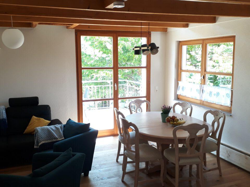 Lamm Spiegelberg-Jux Wohnung-2 Wohnzimmer