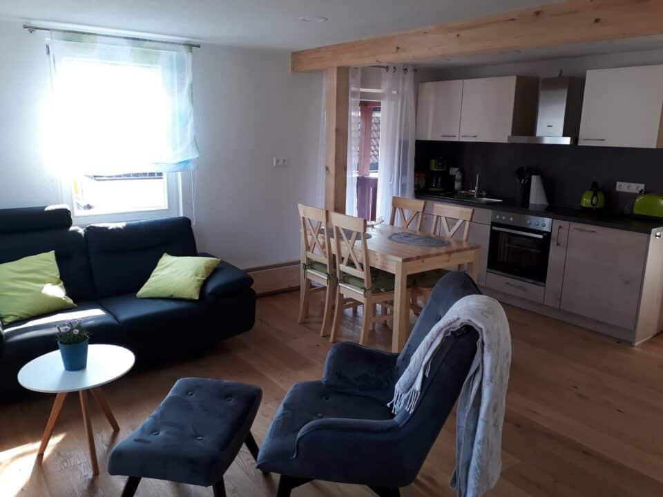 Lamm Spiegelberg-Jux Wohnung-1 Wohnzimmer